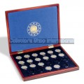 "The complete collection of 23 coins "" The European Flag"" in luxury case 2015 UNC"
