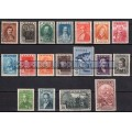 "Greece 1930 ""Centenary of Independence - Heroes "" complete set MNH (**) Vlastos 444-461"