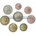 Lithuania-Complete euro set 2015 Uncirculated